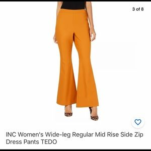 INC Women's Wide Leg Pants